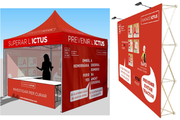"On September 5th the ""Tent of Ictus"" begins the journey"
