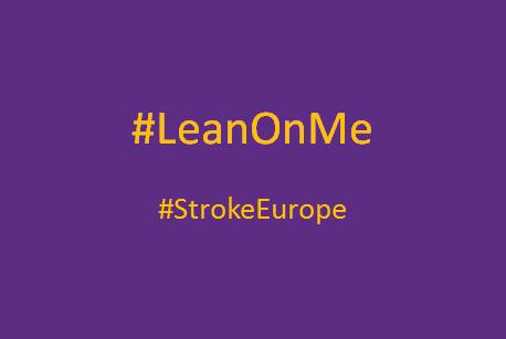 #LeanOnMe challenge #StrokeEurope