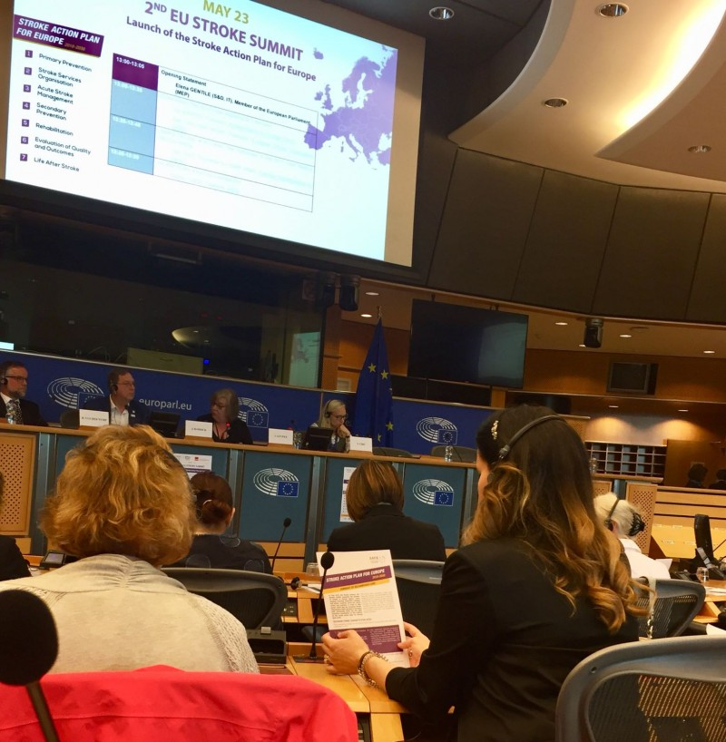 The Stroke Action Plan for Europe launched at 2nd EU Stroke Summit