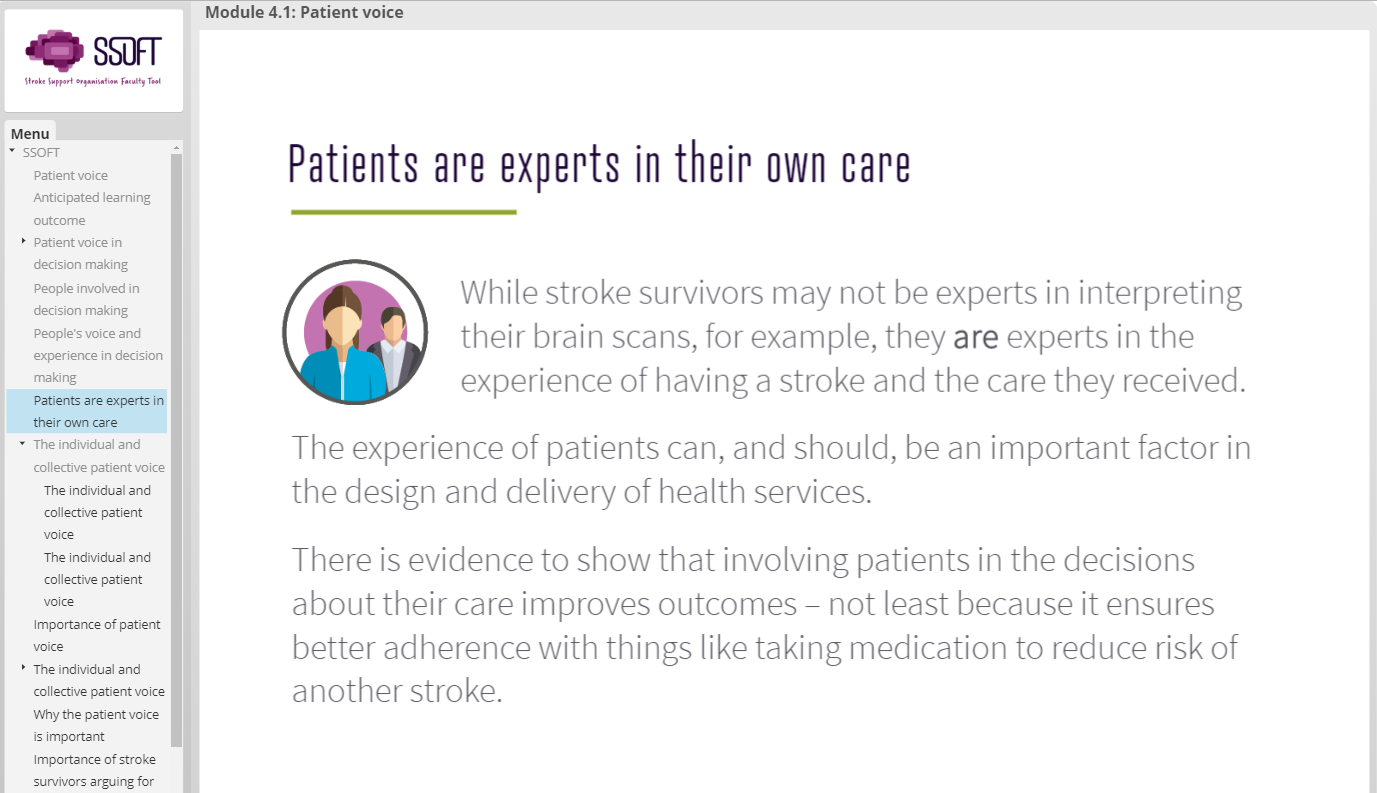 Stroke Support Organisation Faculty Tool: Module 4 Launched