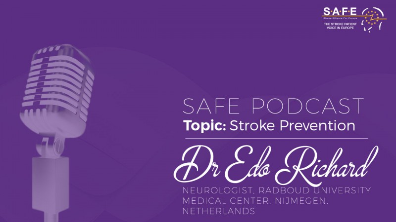 New SAFE podcast: Why is stroke so difficult to prevent?
