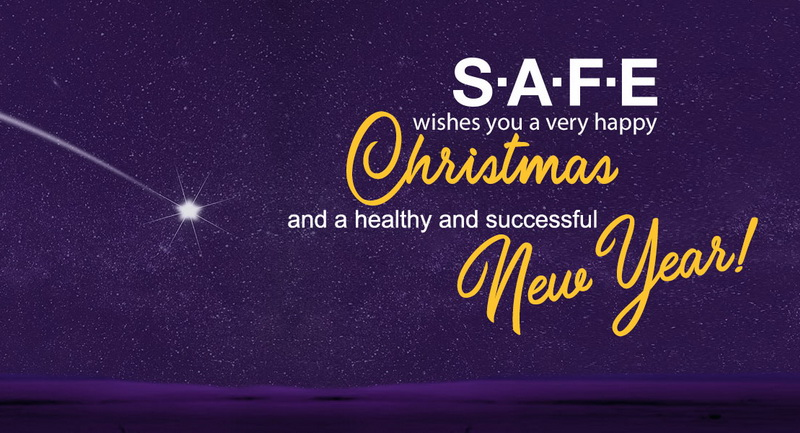 SAFE wishes you a very happy Christmas and a healthy and successful New Year!