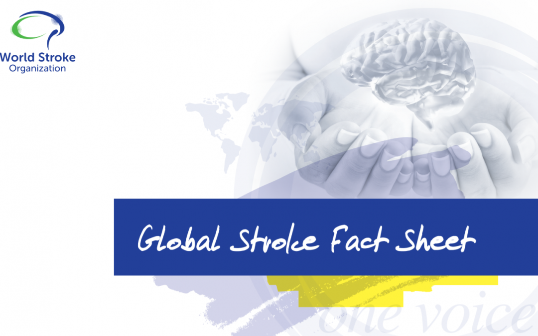 World Stroke Organization published the Global Stroke Fact Sheet