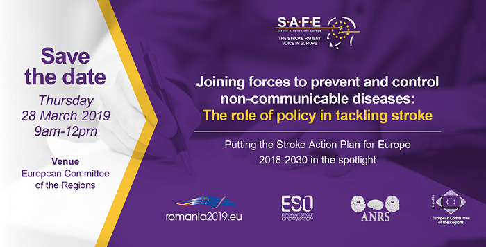 The role of policy in tackling stroke: The registration for #RO2019EU is now open