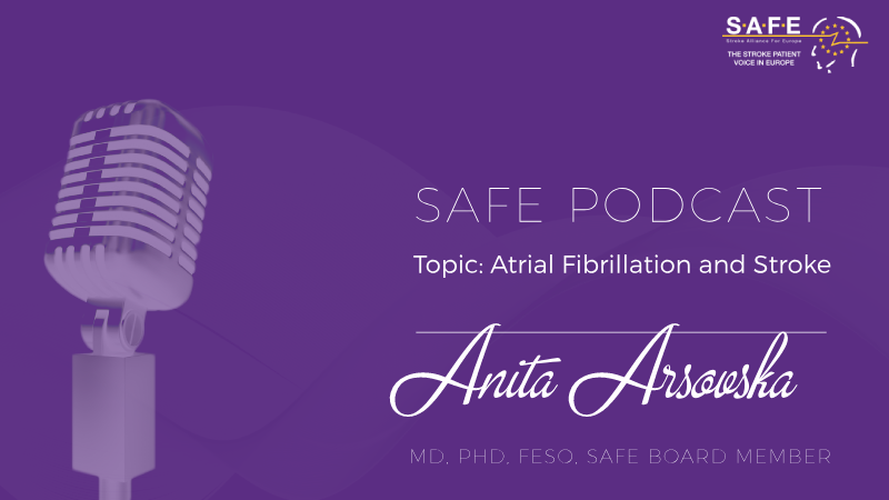 Podcast #5 on StrokePrevention.info – Atrial Fibrillation and Stroke