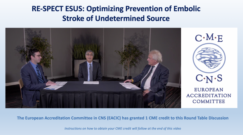 RE-SPECT ESUS: Optimizing Prevention of Embolic Stroke of Undetermined Source