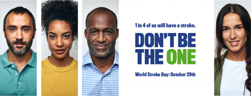 WSO Campaign: When it comes to Stroke – Don't Be the One