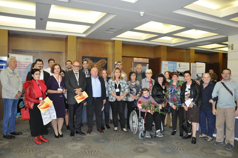 Exhibition of the art work of stroke survivors and patients with other brain impairments held at International medical congress in Bulgaria