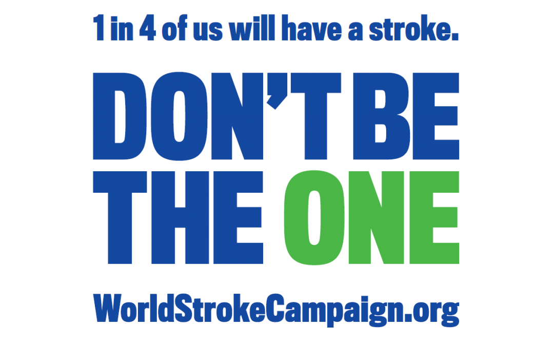 #DontBeTheOne: Wave the flag for stroke awareness on this year's World Stroke Day