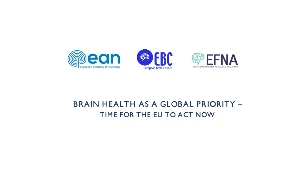 Brain Health as a Global Priority – Time for the EU to Act Now