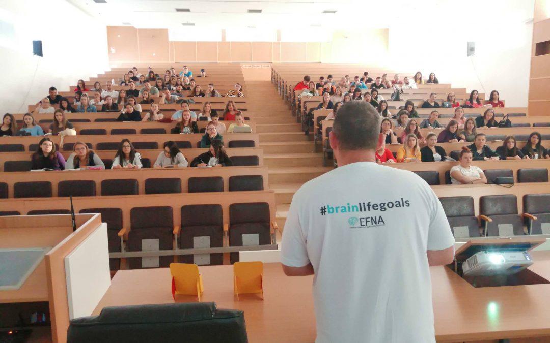 #BrainLifeGoals Campaign: A Serbian Story