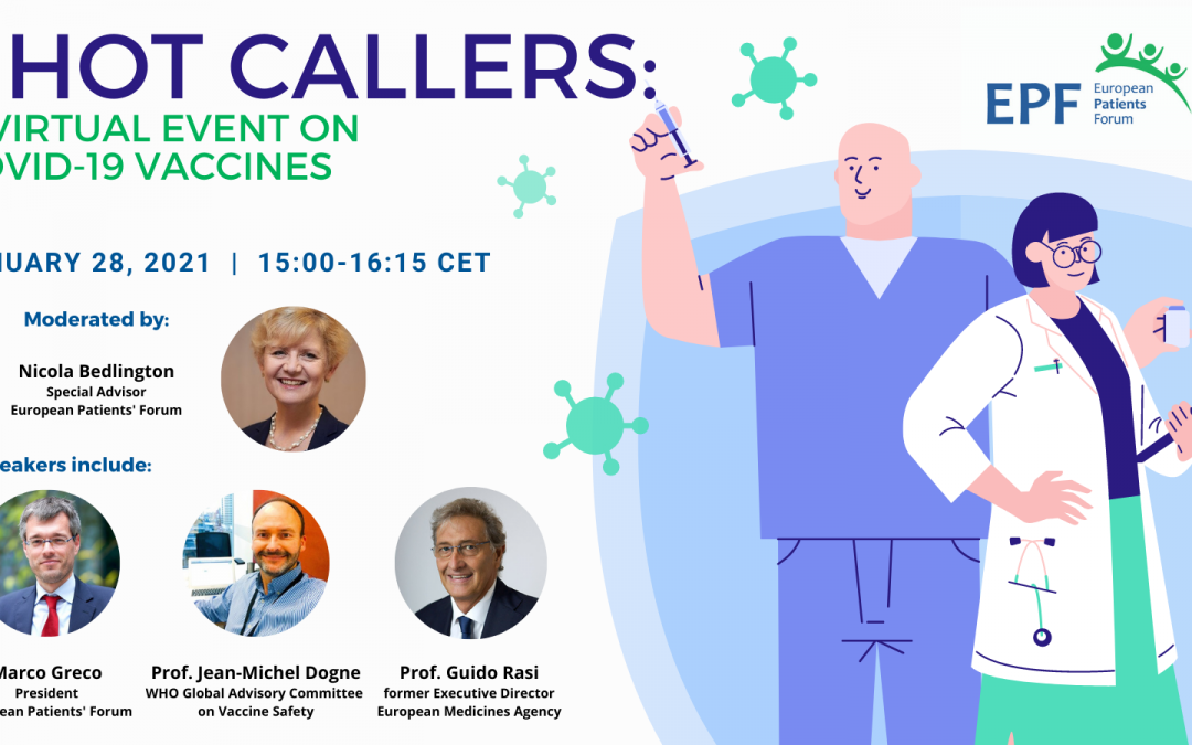 SHOT CALLERS: A Virtual Event on COVID-19 Vaccines