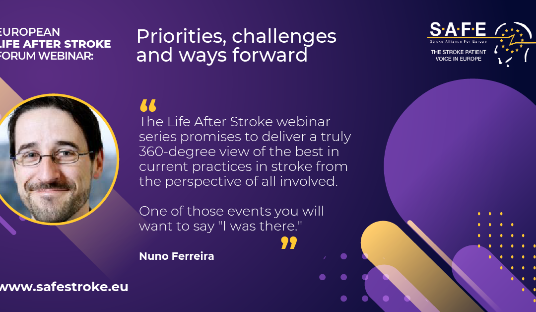 Programme for Life After Stroke webinar on 12 March finalised