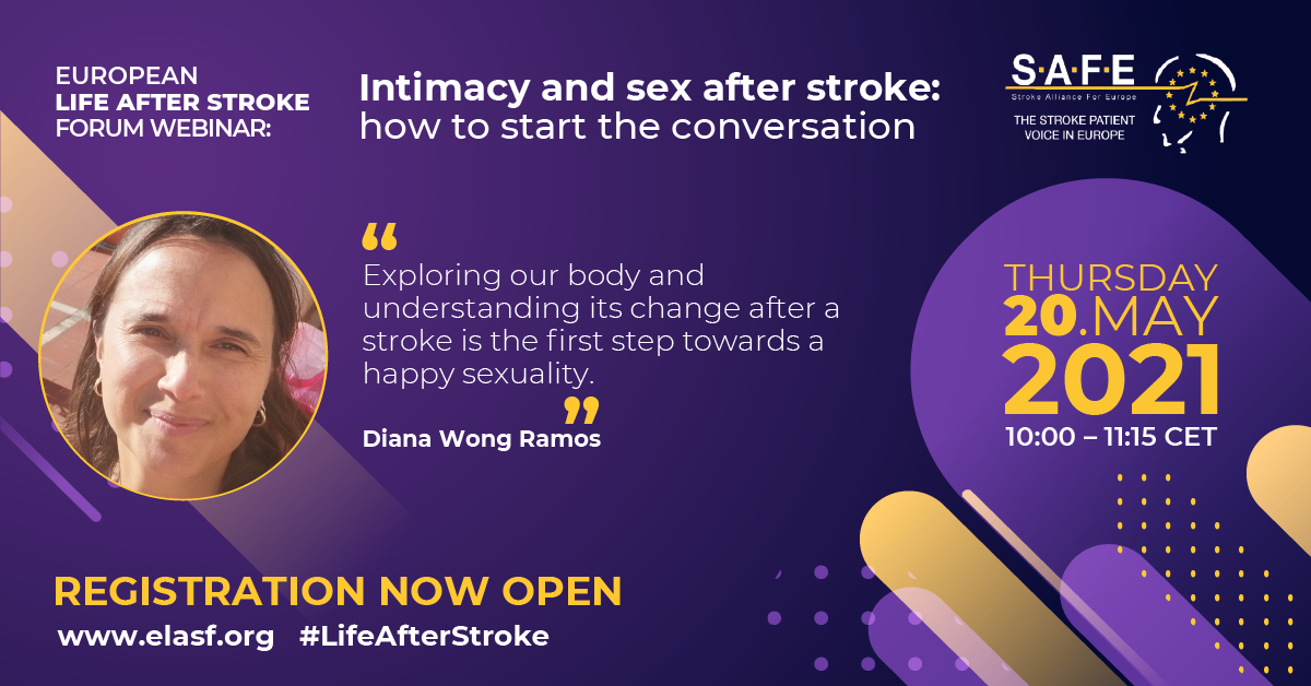 Final programme for our Free Life After Stroke webinar on 20 May 2021