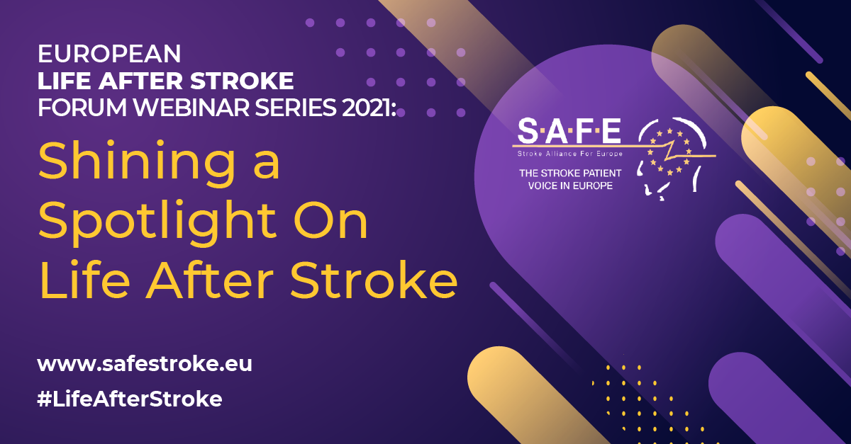 2ndWebinar on Life After Stroke, Intimacy and sex: how to start the conversation to be made available on demand