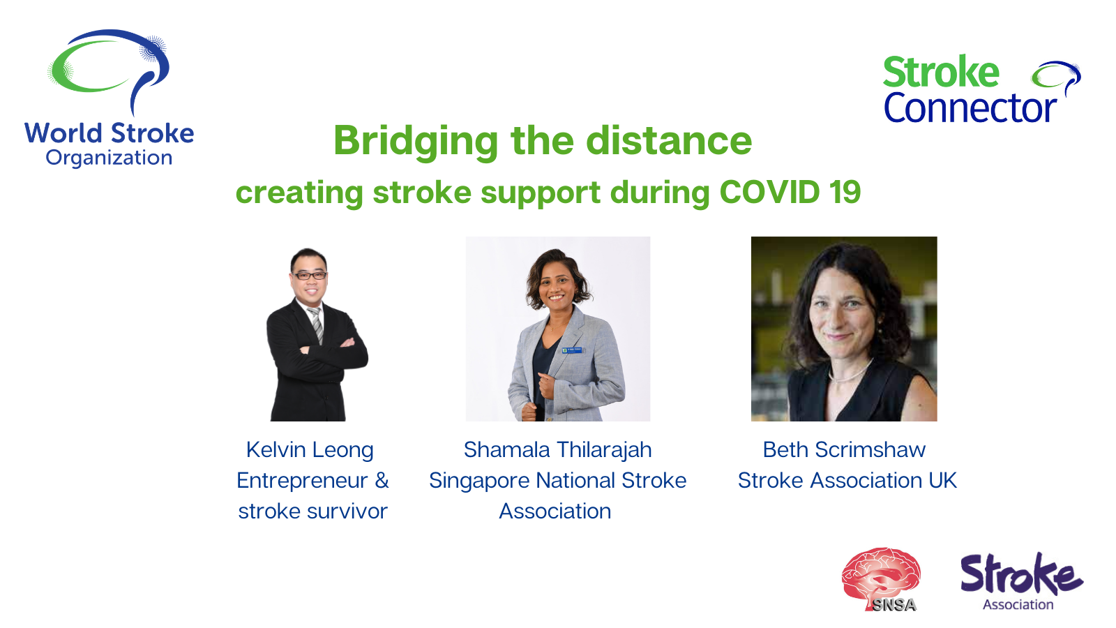Stroke support during the pandemic.