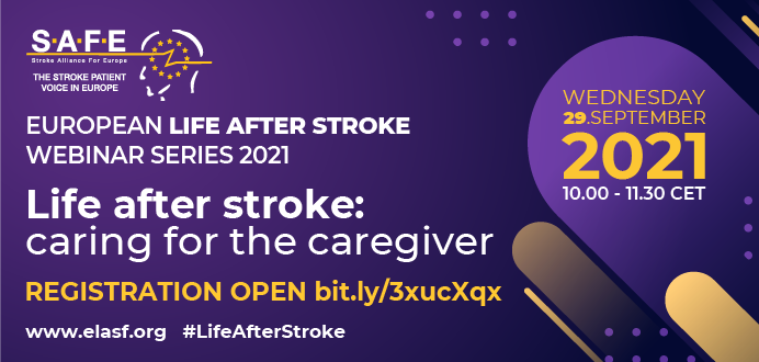 Three weeks to go until our next European Life after stroke webinar!