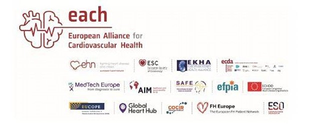 European organisations join forces to shine spotlight on cardiovascular health